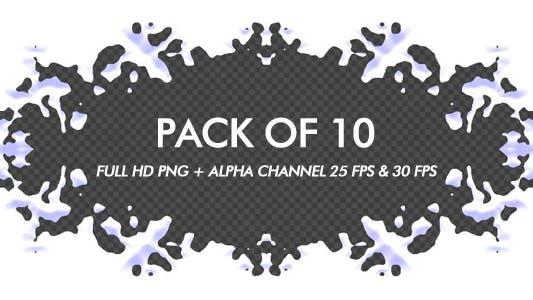 Snow Frame - Pack of 10