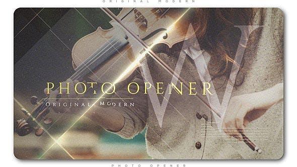 Thumbnail for Original Modern Photo Opener