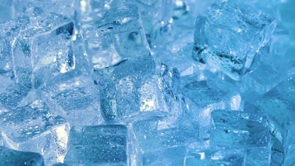 Thumbnail for Eiswürfel, abstrakter Hintergrund.