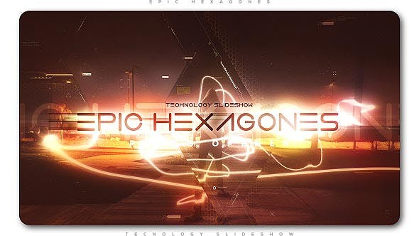 Thumbnail for Epic Hexagones Technology Slideshow
