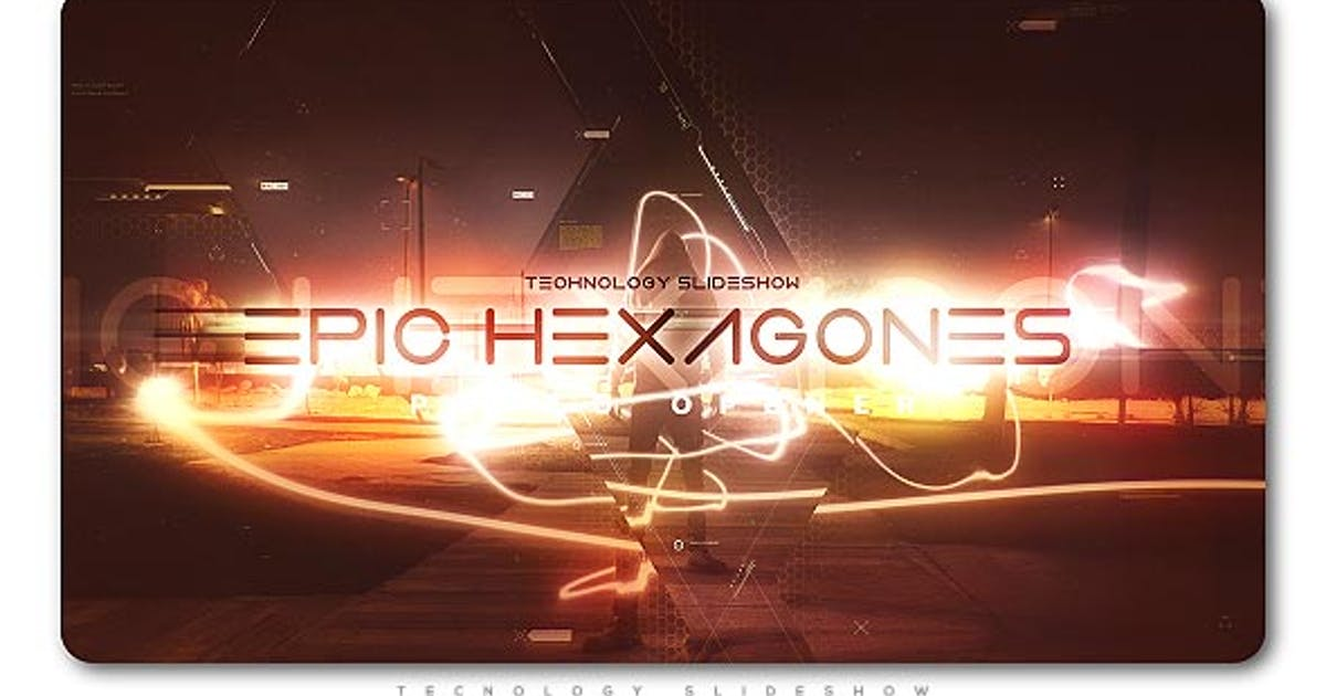 Download Epic Hexagones Technology Slideshow by TranSMaxX