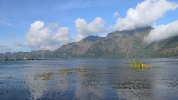 Thumbnail for View Batur Lake Near Gunung Abang Volcano in Bali Island, Indonesia