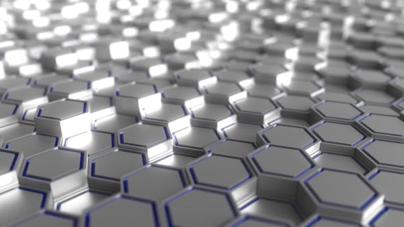 Thumbnail for Grey and Blue Hexagonal Prisms