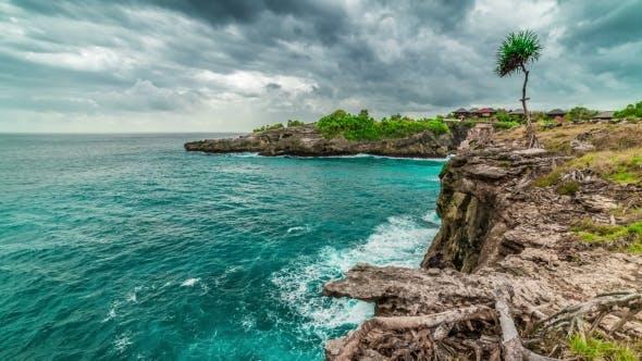 Thumbnail for Blue Beautiful Lagoon at Nusa Ceningan Island, Indonesia