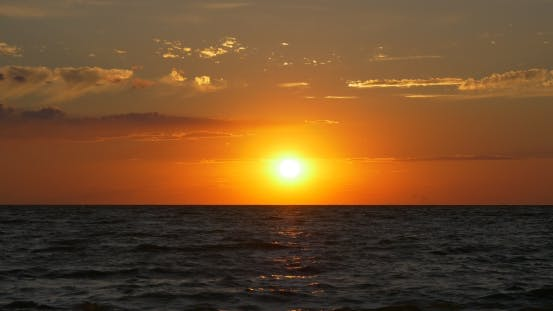 Thumbnail for Sunset at the Sea