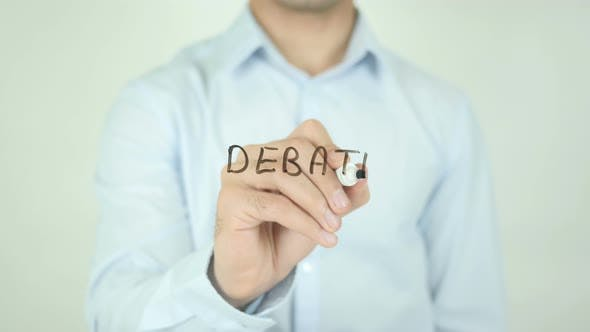 Thumbnail for Debate, Writing On Screen