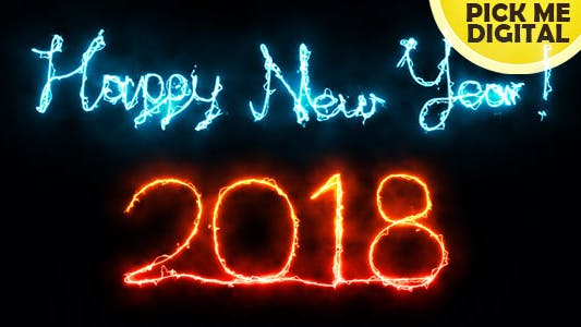 Thumbnail for Happy New Year 2018 Electric Letters
