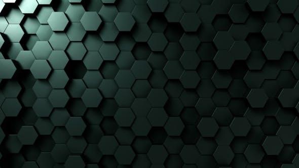Thumbnail for Dark Green Hexagonal Background