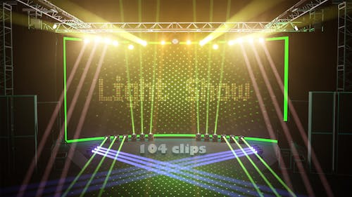 Professional Stage Lighting Show
