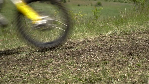 Thumbnail for Motorbike Speeding on Dirt