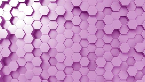 Thumbnail for Purple Hexagonal Background