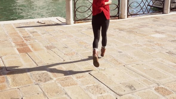 Thumbnail for Travel Tourist Girl in Venice, Italy