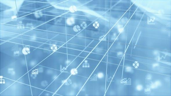 Thumbnail for Futuristic 3D Data Chart