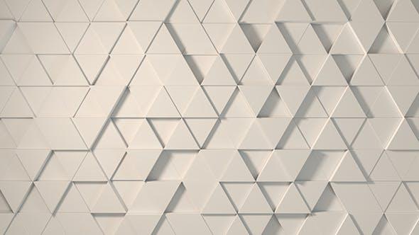 Neutral weiße Dreiecke