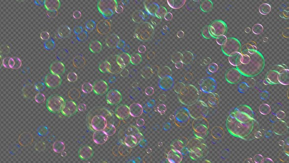 Thumbnail for Colorful Bubbles Fly V3