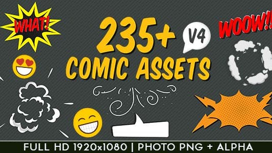 Thumbnail for Comic FX / Speech Bubbles Graphic Pack