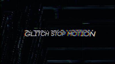 Glitch Stop Motion