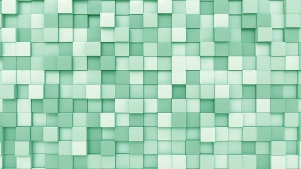 Cover Image for Light Green Cubes