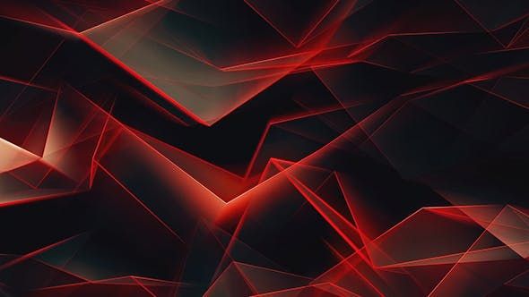 Thumbnail for Epic Red Line Shiny Polygonal Refraction