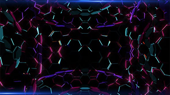 Thumbnail for Hexagonal Lights Waves