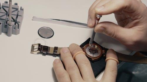Watchmaker Is Repairing the Wristwatch,