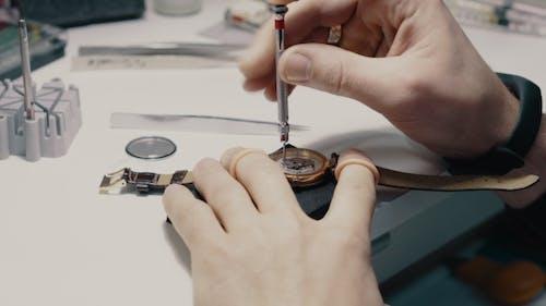 Watchmaker Is Repairing the Wristwatch
