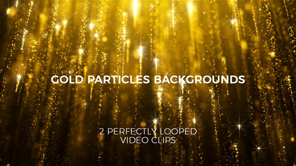 Thumbnail for Gold Particles Backgrounds