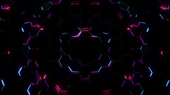 Cover Image for Electric Hexagons Lights 02