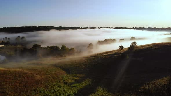 Thumbnail for Mist in Rural Landscape