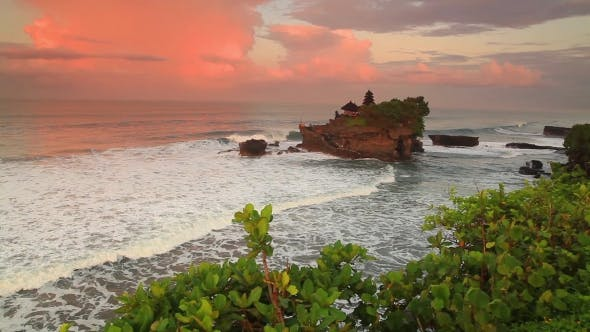Thumbnail for Pura Tanah Lot Temple at Sunset. Bali