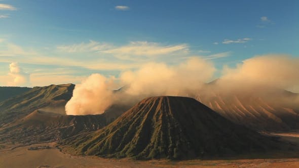 Thumbnail for Sunrise at Mount Bromo Volcano, East Java, Indonesia