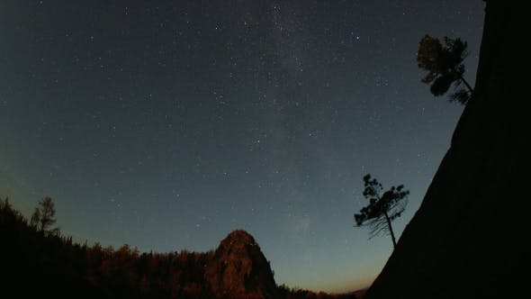 Thumbnail for Starry Sky in the Mountains