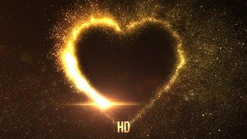 Explosive Golden Heart