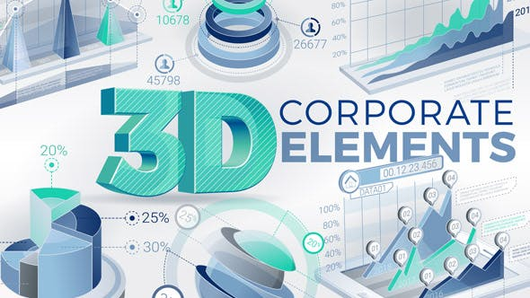 Cover Image for 3D Corporate Elements
