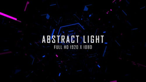 Abstract Light VJ Loops Background