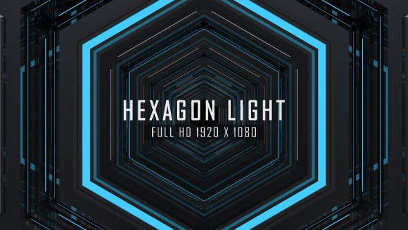Thumbnail for Hexagon Light VJ Loops Background