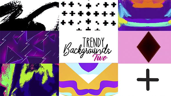 Thumbnail for Trendy Backgrounds 2