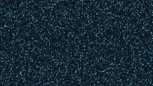 Electronic Digital Noise Cloud Cluster Background