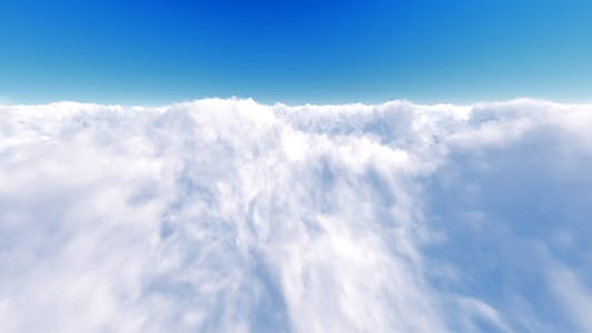 Clouds Fly Through