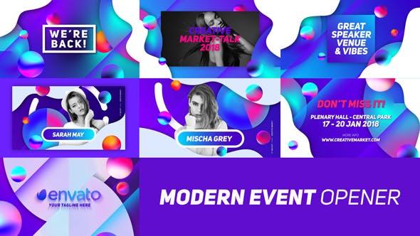Thumbnail for Modern Event Opener