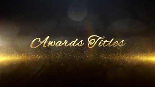 Awards Titles 3D