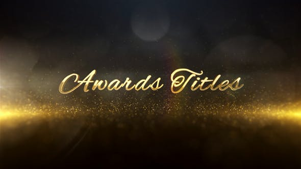 Thumbnail for Awards Titles 3D