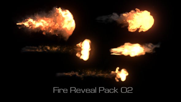 Thumbnail for Fire Reveal Elements Pack 02