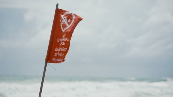 Red Flag Warning During a Hurricane