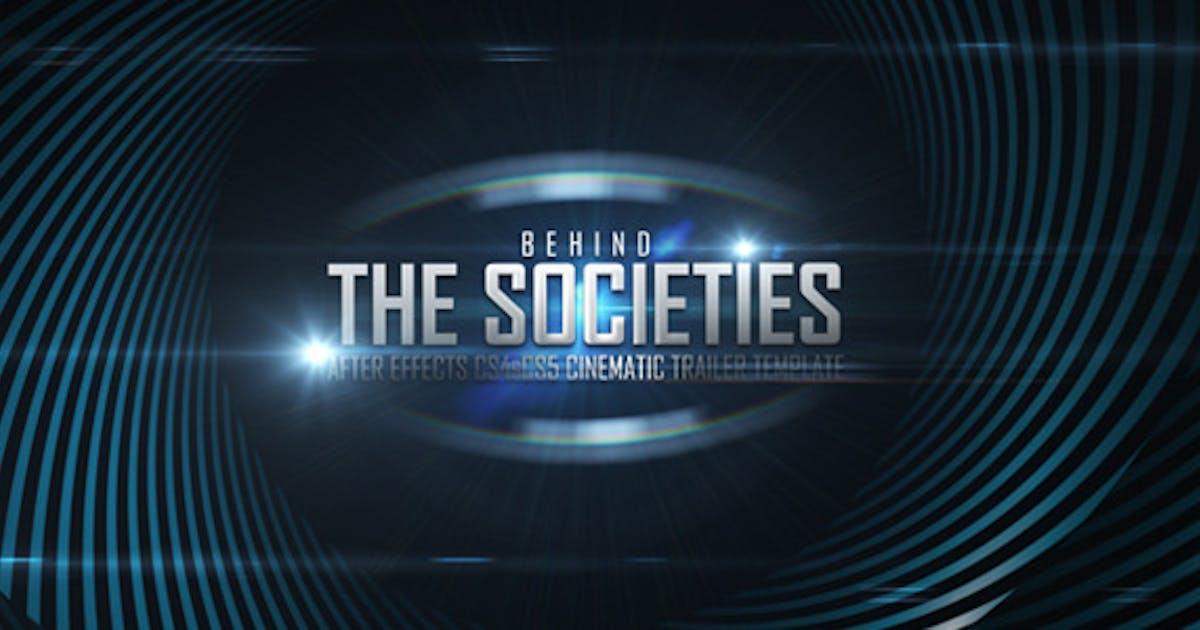 Download Behind Societies - Trailer by miseld