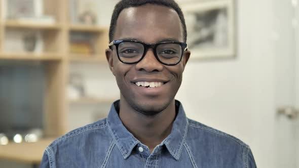 Thumbnail for Smiling Afro-American Man