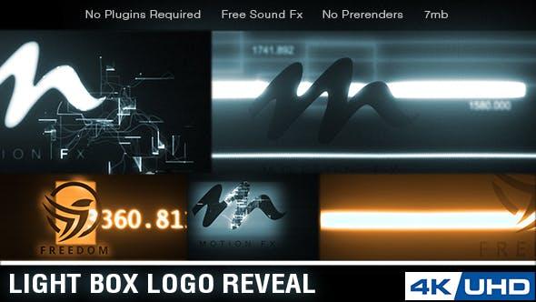 Light Box Logo Reveal