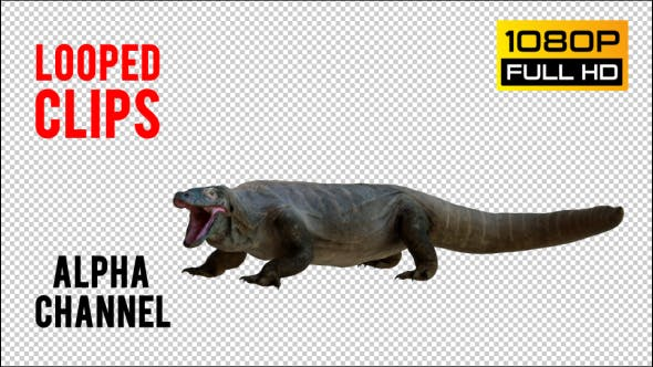 Thumbnail for Giant Lizard 2 Realistic Pack 4