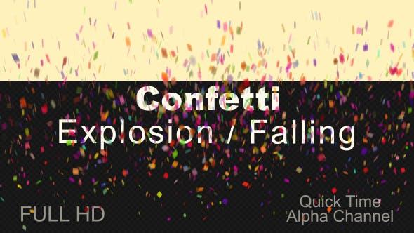 Animations Confettis