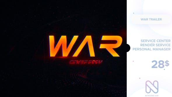 War Trailer